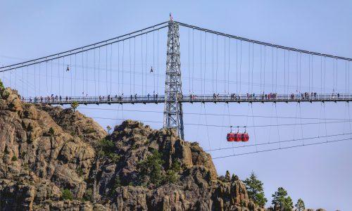 Royal Gorge Bridge & Park; Canon City; Fremont County; Colorado; USA