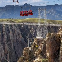 Royal Gorge Bridge & Park; Canon City; Fremont County; Colorado; USA